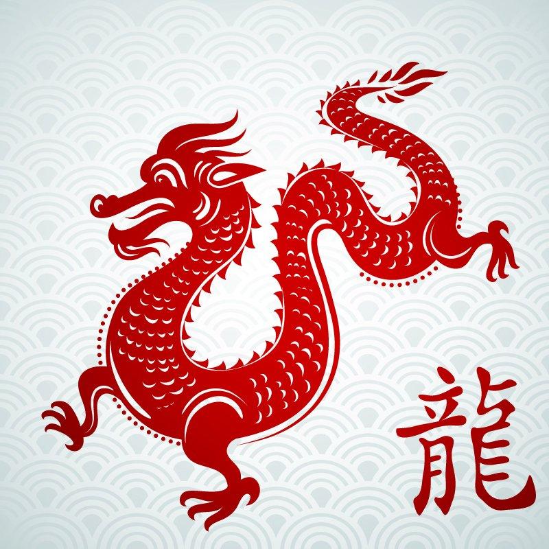 Новый год по китайскому дракона 2017